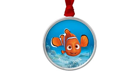 finding dory nemo metal ornament zazzle
