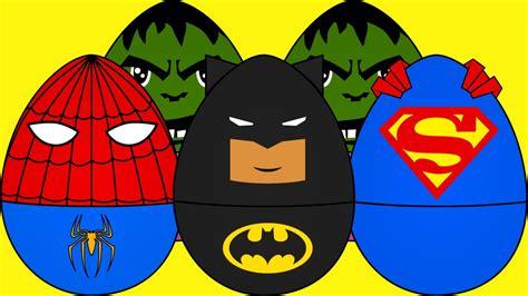 for kindergarteners superheros eggs for trucks for children