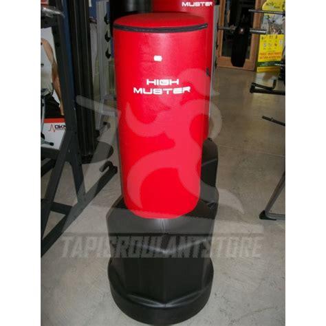 sacco boxe con pedana sacco da fit boxe altezza 75 cm high muster vendita