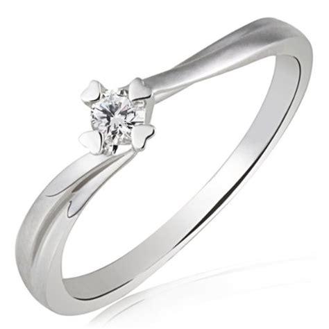 Verlobungsring Brillant by Goldmaid Damen Ring Herz Stotzen Verlobungsring 585