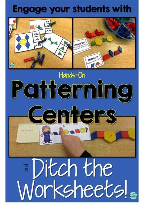 pattern centres for kindergarten 25 best ideas about patterning kindergarten on pinterest