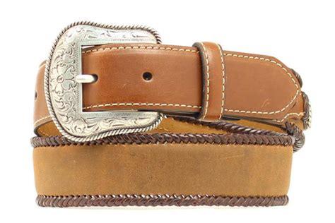 nocona children s simple brown leather belt
