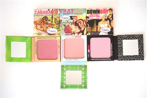 The Balm The Boy Blush these products are the balm blush beyond