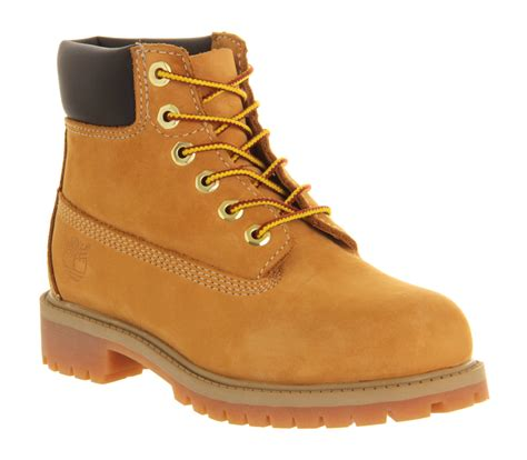 classic timberland boots for timberland 6 inch classic boots youth wheat nubuck
