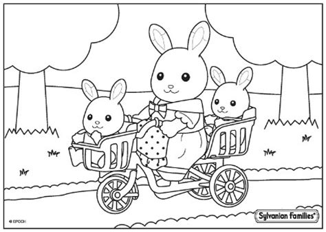 sylvanian family coloring page billedresultat for sylvanian families coloring pages for