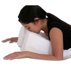 Facedown Pillow by Stomach Sleeper Pillow Large 14 X 29 X 6 To