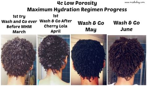 4c hydration method maximum hydration method on 4c hair before and after