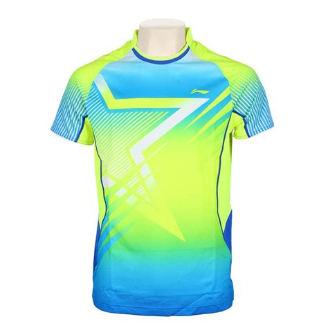 Tshirt Adidas Pattren li ning breathable absorbent badminton jerseys li ning