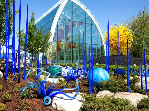 glass garden seattle in summer cus