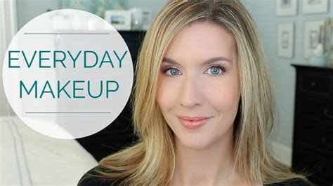 makeup tutorial for over 40 natural everyday makeup tutorial over 40 youtube