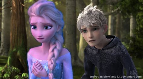 film frozen 2 elsa and jack look i m sorry by pegasisterxiane13 on deviantart