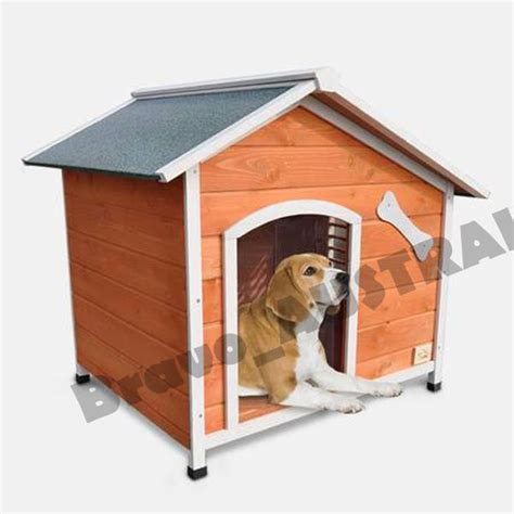 hinged roof dog house xl wooden dog house with flip open hinged roof and side window ebay