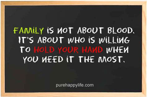 Blood Is Not Family Quotes