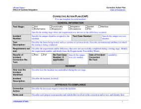 employee corrective plan template corrective plan template vnzgames