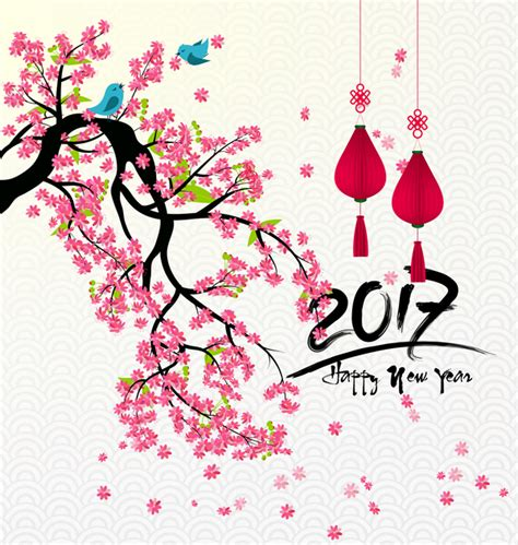 new year flower vector colorful flash design background vector welovesolo