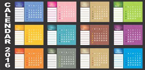 free calendar design templates desk calendar 2016 templates corelpro