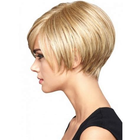 cutting thin hair into a wedge wedge haircut pictures