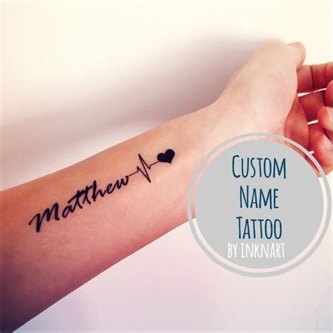 name tattoo ideas pinterest heart beat rate with name google search tattoos