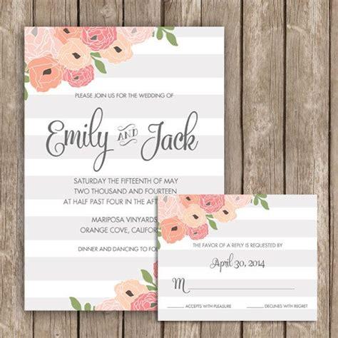 printable wedding invitations app 749 best rustic romantic blush pink wedding images on