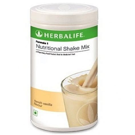 herbalife formula1 vanilla flavour 500gm nutritional