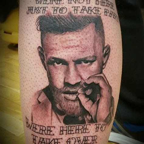 tattoo conor mcgregor conor mcgregor fans put their passion in ink tattoodo