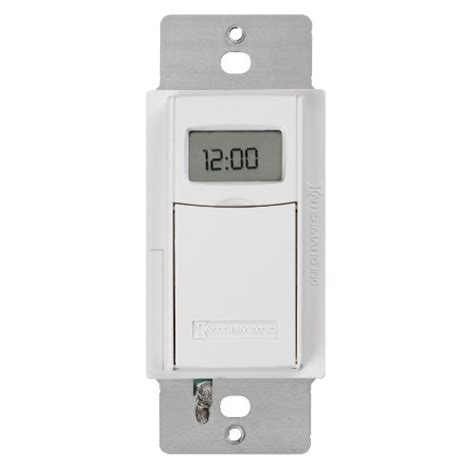 intermatic programmable light switch intermatic st01 7 day programmable in wall digital timer