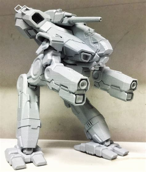 figure 3d printer model top 10 mechwarrior 3d printed figurines gambody 3d