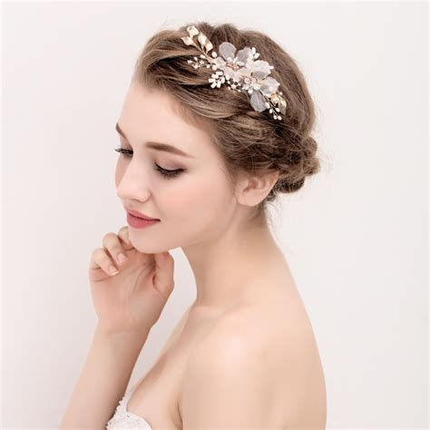 Handmade Bridal Headpieces - aliexpress buy handmade bridal headpiece ivory