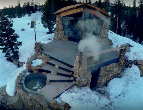 celebrated snowboarder s mountain home designs for living vt area 241 tiny house rests in middle of snow covered