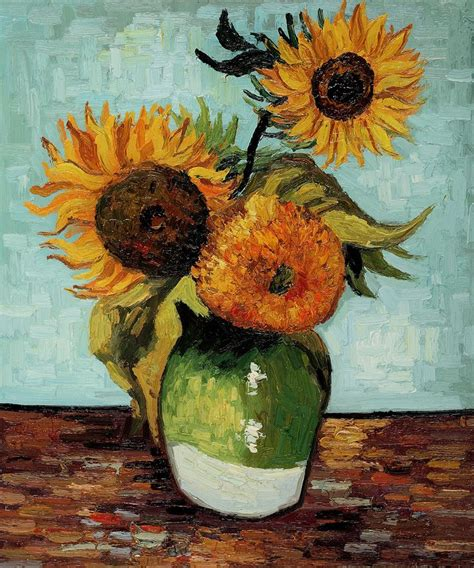 van gogh sunflower tattoo best 25 gogh sunflowers ideas on gogh
