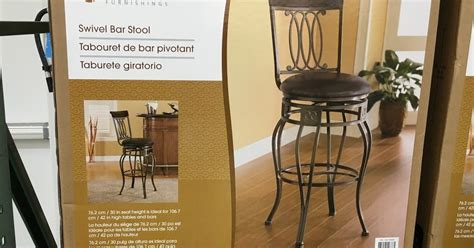 Bayside Swivel Bar Stool by Bayside Furnishings Swivel Bar Stool Costco Weekender