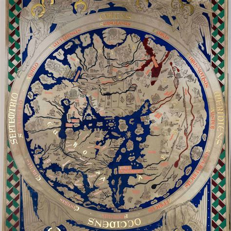 map world powers in 12 century a 12th century mappa mundi or map of the world re