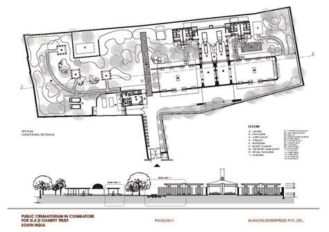 Crematorium Floor Plan | crematorium charity trust mancini enterprises archdaily