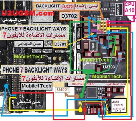 lights that connect to iphone iphone 7 lcd display light ic solution jumper problem ways