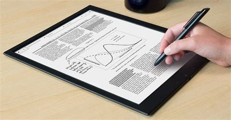best e ink tablet 13 3 inch sony dpt s1 e ink reader now 599 200