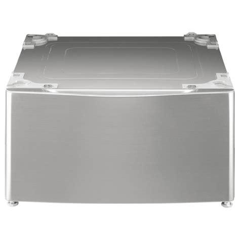 Lg Pedestal Graphite lg 27 quot laundry pedestal wdp4v graphite steel pedestals best buy canada
