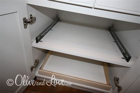 Slide Shelf by Olive And 187 Mission Organization Slide A Shelf