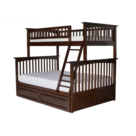 Bunk Bed by Atlantic Furniture Columbia Bunk Bed