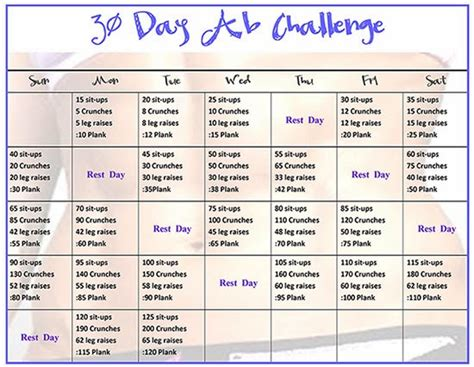 30 day weightloss challenge 30 day weightloss challenge liss cardio workout