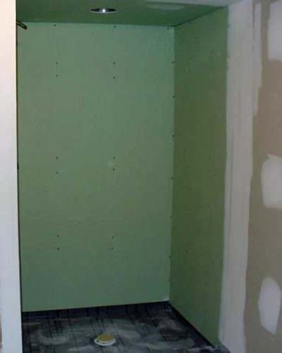 sheetrock for bathroom drywall showers and other bad ideas what not to do