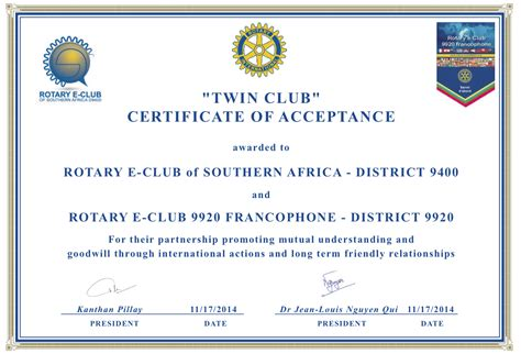 rotary club certificate template 28 rotary club certificate template archives vab