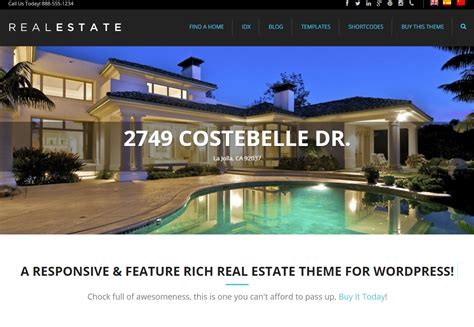 Free Records Real Estate Real Estate Website Templates 25 Exles How To Choose