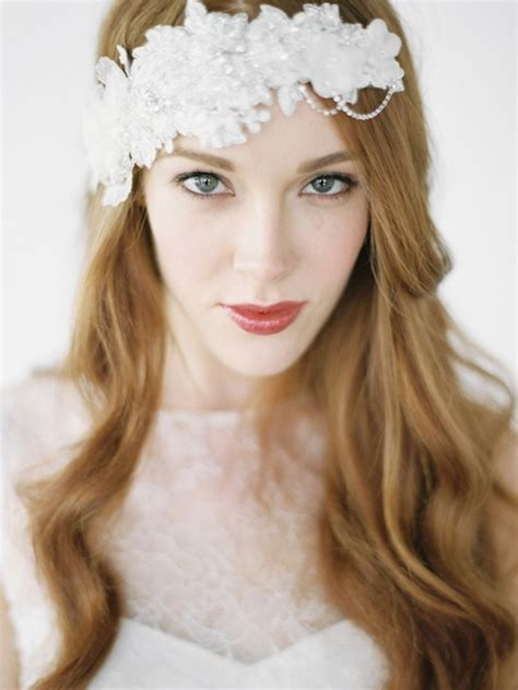 the new collection bridal veils and headpieces percy