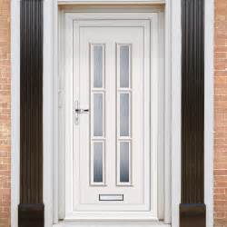 Upvc Exterior Door Exterior Lyon Six Upvc Door External White Pvc Doors