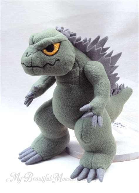 Beautiful Monsters godzilla plush my beautiful monsters