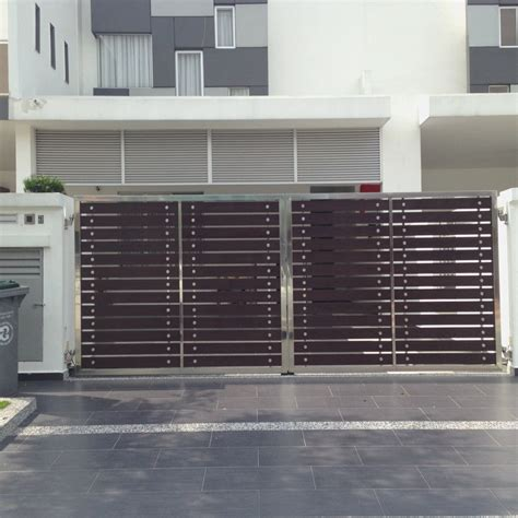 house steel gate designs main gate design in stainless steel stainless steel main