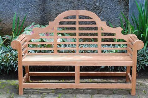 grade a teak patio furniture lutyens bench in grade a teak by teak furniture