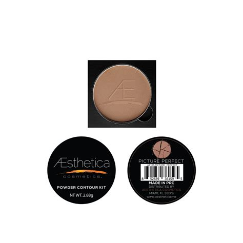 Aeathetica Contour Kit Powder 1 aesthetica cosmetics powder refill for contour and