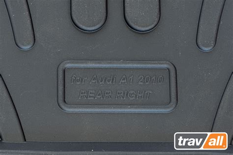 Custom Rubber Door Mats by Trm1002r Custom Made Rubber Car Mats For Audi A1 5 Door