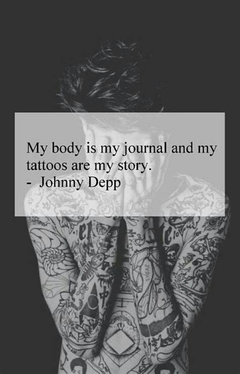 johnny depp tattoo saying 17 best johnny depp quotes on pinterest really deep